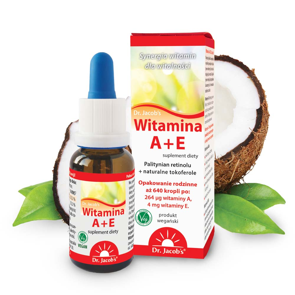 Witamina A+E Dr Jacobs